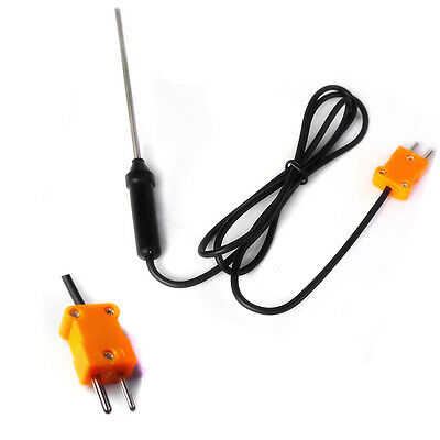 1m Cable Sensors K Type Thermocouple Temperature Probe Controller
