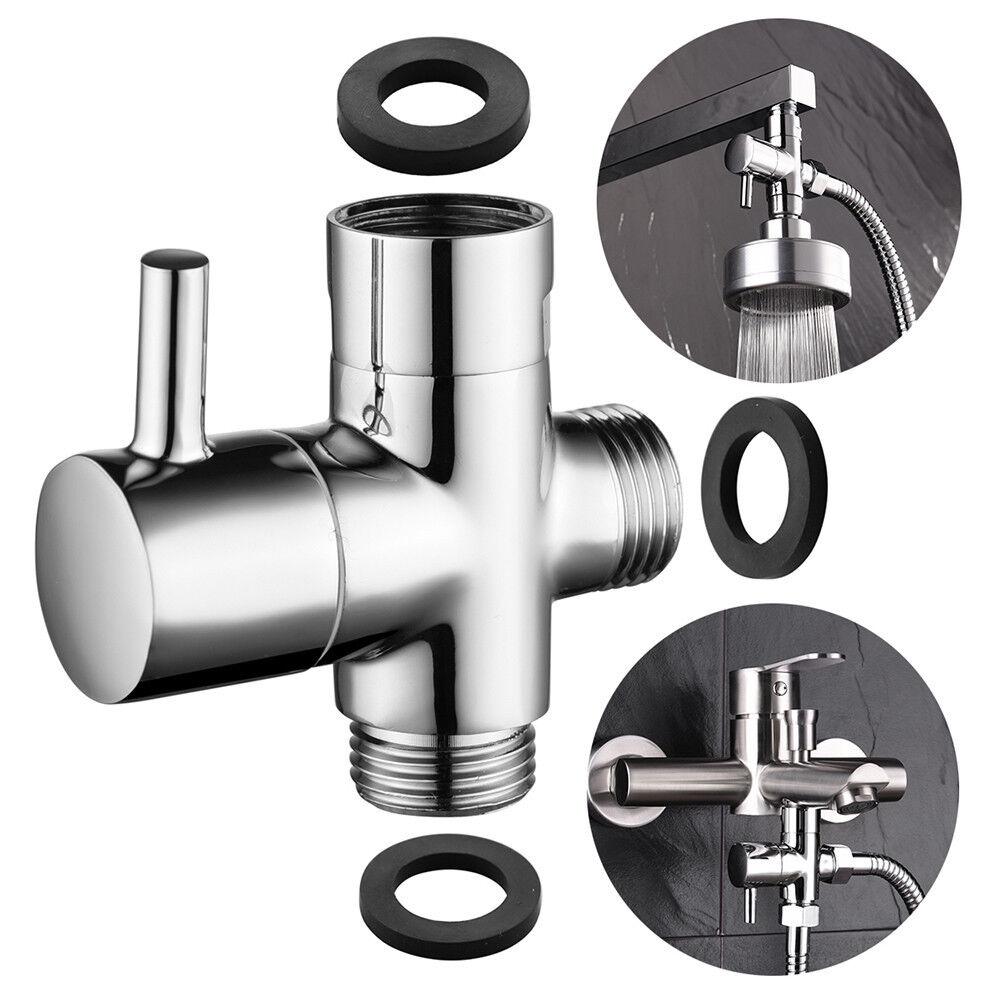 brass 3 way diverter valve for shower