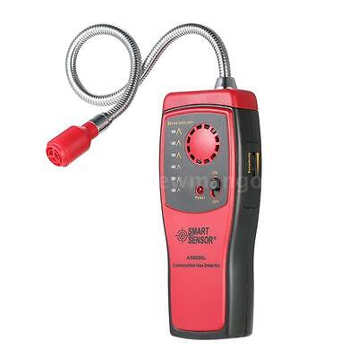 (New Portable Combustible Gas Leak Detector Tester With Visual Leakage Indicator)