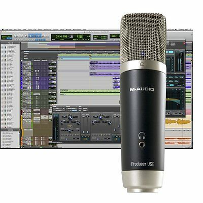 M-Audio Vocal Studio Recording Bundle with USB Condenser Microphone