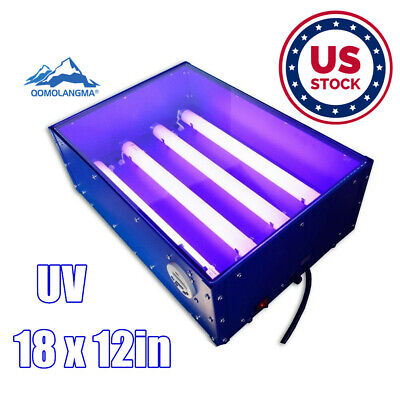 Screen Printing Exposure Unit 18x12 Silk Screen Printing Machine Uv Light 60w