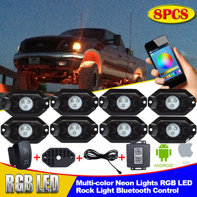 ORACLE Lighting Bluetooth Color SHIFT Underbody Rock Light Kit - 8p HALLOWEEN