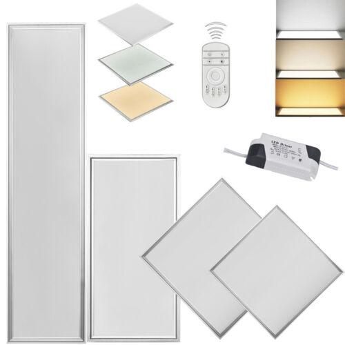 LED Panel 120x60 120x30 60x30 30x30 Dimmbar Deckenlampe Pendelleuchte Ultraslim