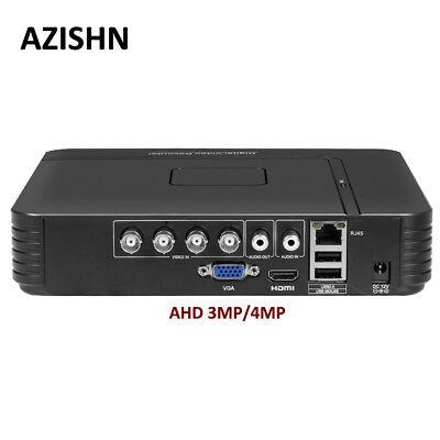 -  4MP AHD DVR 4CH/8CH H.264+ Mini Hybrid XMEye VGA HDMI For 3MP 4MP AHD Camera