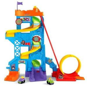 NEW Fisher-Price Little People Loops 'n Swoops Amusement Park Condition: New