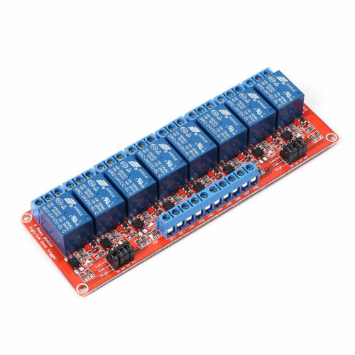 24 VDC @10 AMP 8-CHANNEL HIGH / LOW LEVEL INPUT RELAY BOARDS