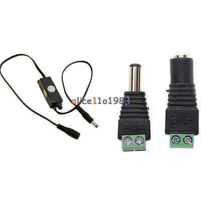 Mini Aotomatic Pir Infrared Motion Sensor Detector Switch Dc5v-24v For Led Strip