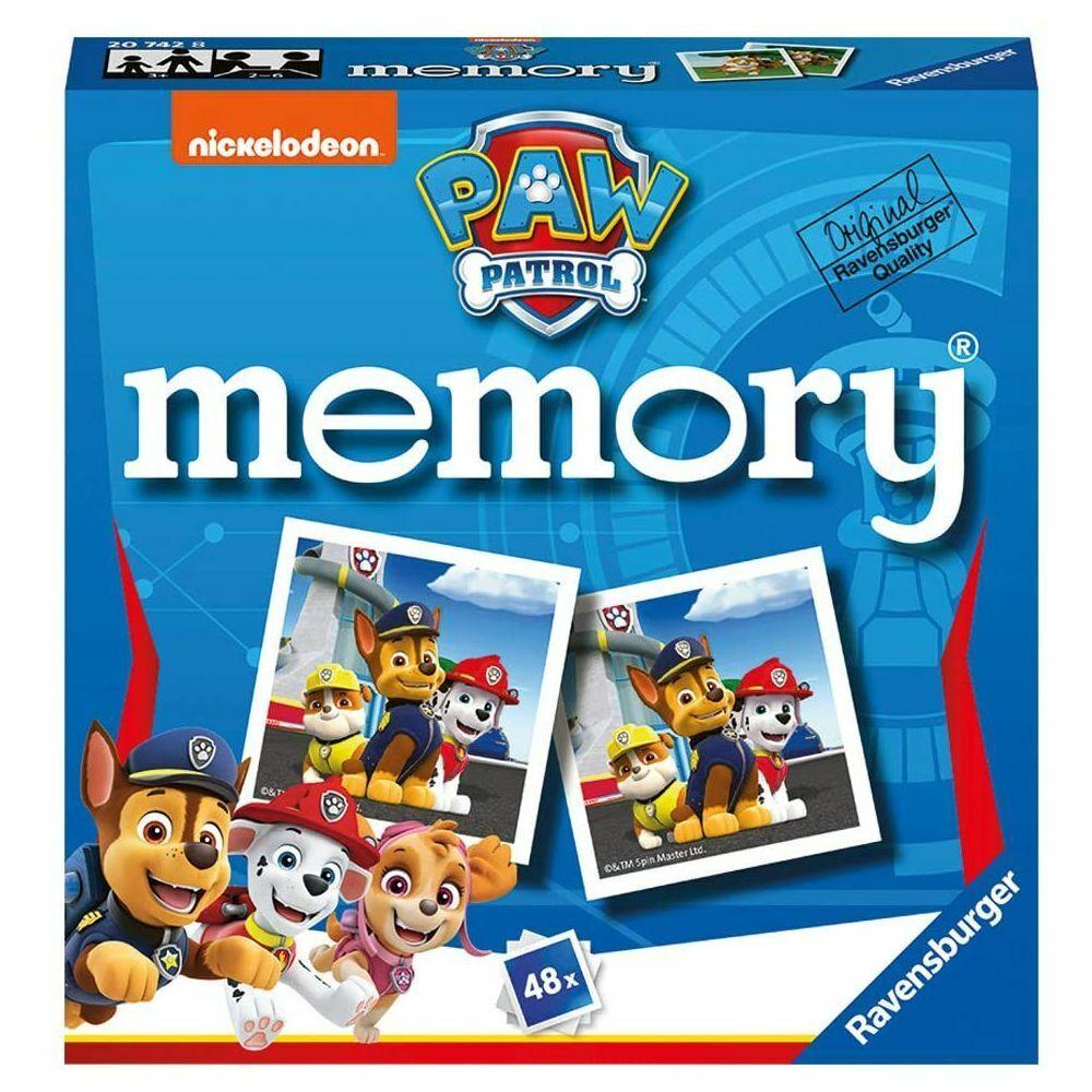 Mini Memory® | Paw Patrol | 48 Bildkarten | Ravensburger | Kinder Legespiel