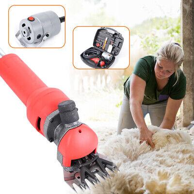 220V Electric Flexible Shaft Sheep Shears Goat Wool Shearing Clipper Farm 750W