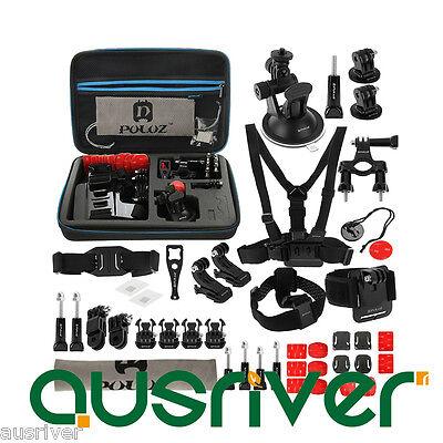 45in1 Accessories Last Combo Kit with EVA Casefor GoPro HERO6/5/4/3+/2 SJ400