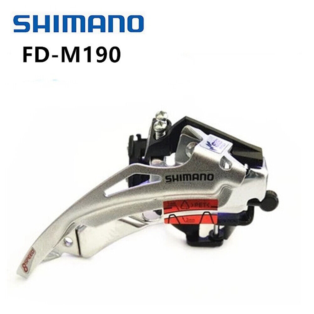 Mountain Bike Derailleur Bike Front for 31.8mm 18 Speed//21 Speed Clamp-on New