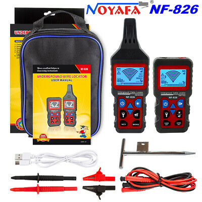 Noyafa Nf-826 Locator Meter Tracking Device Wire Circuit Breaker Cable Tester