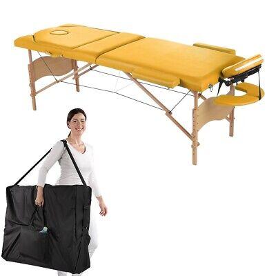 Massageliege 3 Zonen Massagebank Massagetisch klappbar Therapieliege Alu mobile