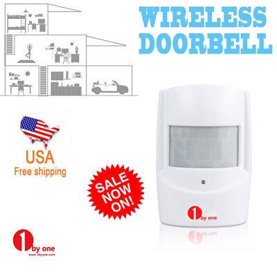 1byone Wireless Motion Sensor Transmitter Alarm Security Detector Alert System