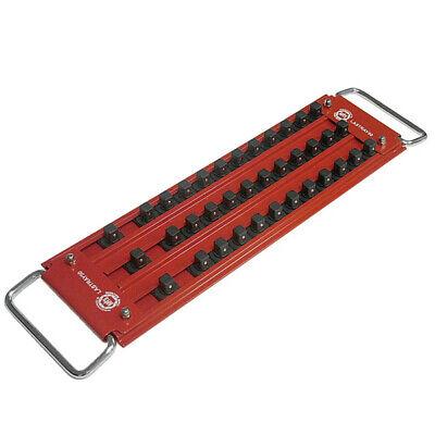 Mechanics Time Saver Lastray50 Lock-a-socket 12 In. Drive 3 Row Tray New