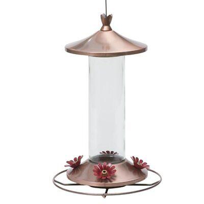 12 Ounce Hummingbird Feeder - Perky-Pet 710B Elegant Copper Glass Hummingbird Feeder, Holds Upto 12 Oz