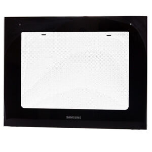 Samsung Oven GLASS DOOR Outer Black BF3ON3T11