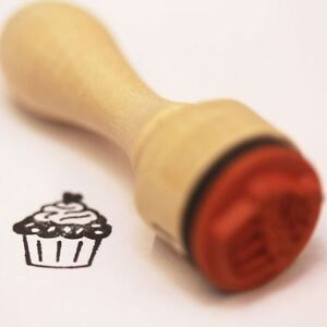 Very Mini Cupcake Rubber Stamp Craft Cake Making