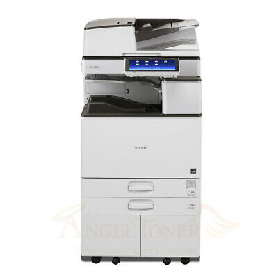 Ricoh Aficio Mp 5055 Mono Printer Scanner Copier 50 Ppm Laser Tabloidledger