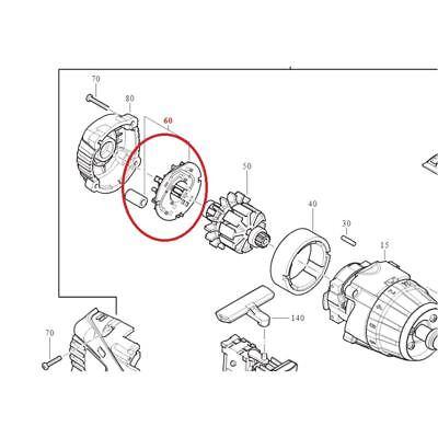 FEIN Soporte Cepillo Para batería Atornillador Eléctrico 31333121000