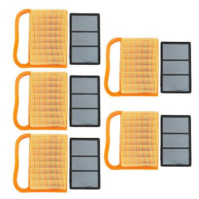 For Stihl Ts410 Ts420 Ts 420 Ts 5 Pack Air Filter Set Part Saws 4238-140-4402