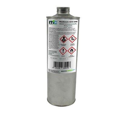 MC24 Wundbenzin 40/65 Reinigungsbenzin Leichtbenzin, flüssiges Lösungsmittel, 1L