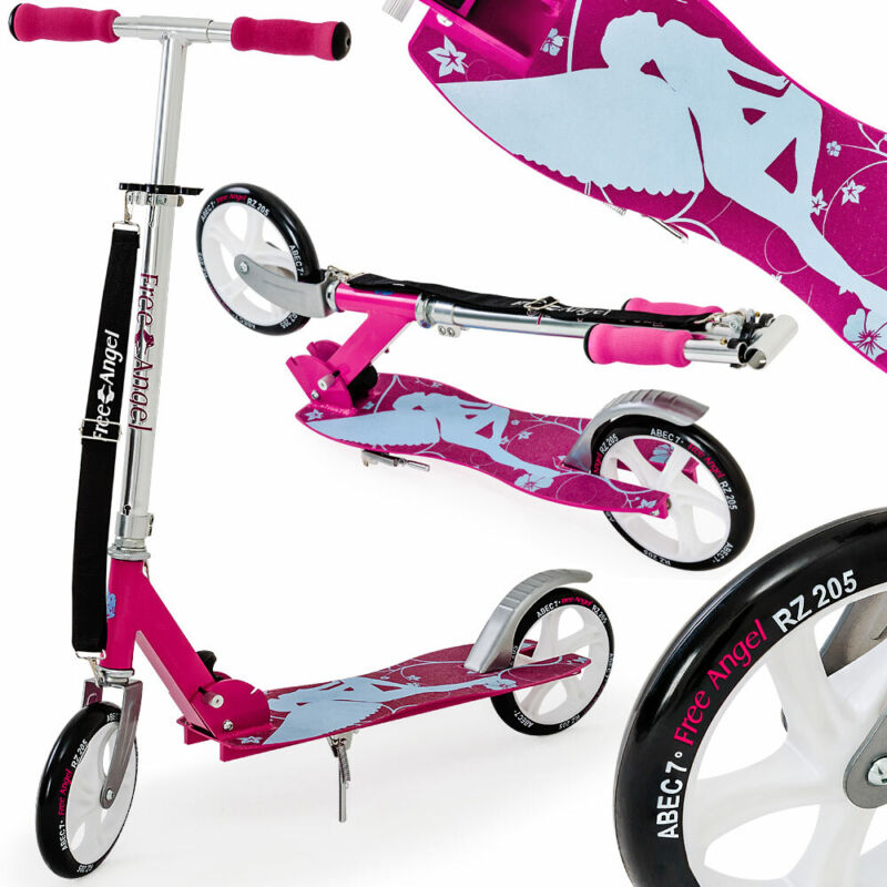Funsport Scooter Roller Kinderroller Tretroller Cityroller Kickroller Kinder Free Angel