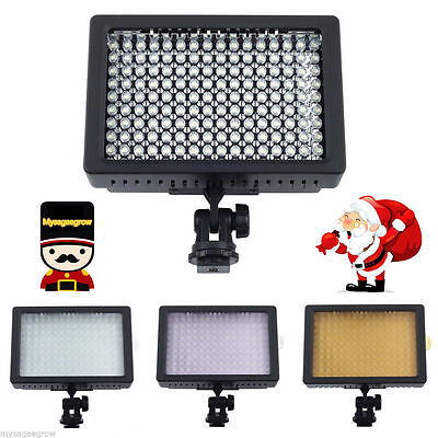 160 LED Studio Video Light For Canon Nikon Camera DV Camcorder Photography UK