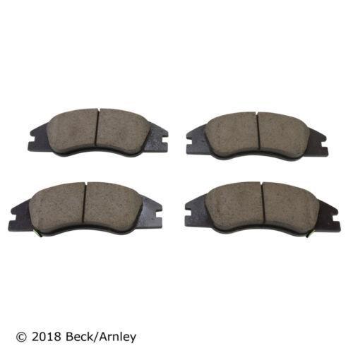 Beck Arnley 089-1484 Disc Brake Pad