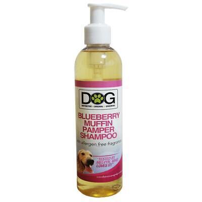 250ml Distinctive Original Grooming Dog Blueberry Muffin Pamper Shampoo