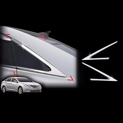 Chrome Window C pillar Molding For Hyundai YF Sonata 2010~2013