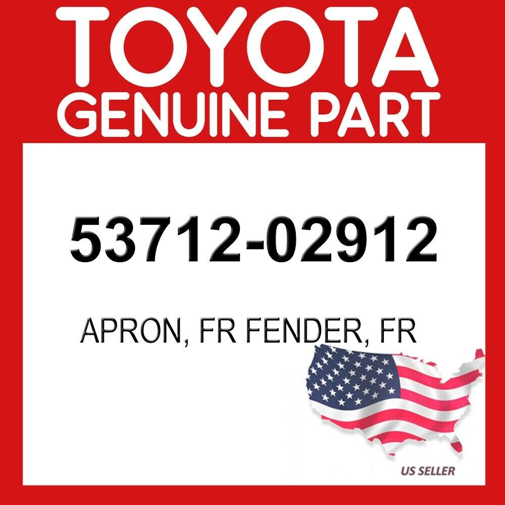 Genuine Toyota 53711-47900 Fender Apron
