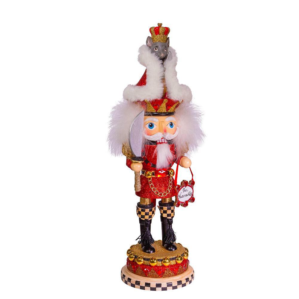 """[Kurt Adler Mouse King Hat  Nutcracker - Christmas Nutcracker 18"""" New</Title]"""