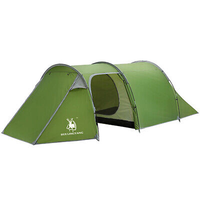4-5 Person Family Camping Tunnel Dome Tent Waterproof Cabin Hiking Backpacking