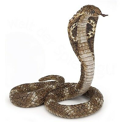 Papo King Cobra Animal Figurine - Snake Wild Fantasy Action Figure Detailed