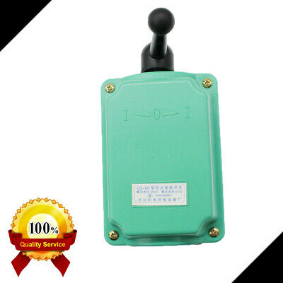 Rainproof Motor Control 60a 0-380v Drum Switch Forwardoffreverse Us Fast Ship