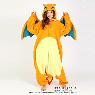 Pokemon Charizard Lizardon Free SizeSazak Fleece Costume TMY-036