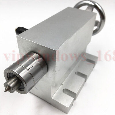 Cnc Router Tailstock 4th Axis Center Height 66mm Tail Stock 2 For Rotary Axis