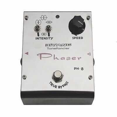 Biyang PH8 Phaser Guitar Effects Modulation Pedal