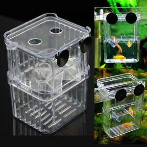 Aquarium fish tank breeding divider tank feeding breeding for Fish breeder box