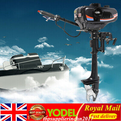 3.5HP 2 Stroke Short shaft Outboard Motor Boat Engine CDI System Water Cooling