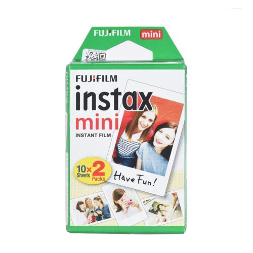 20sheets Instax mini White Instant Film For Mini 7s 8 9 25 50 90 Camera