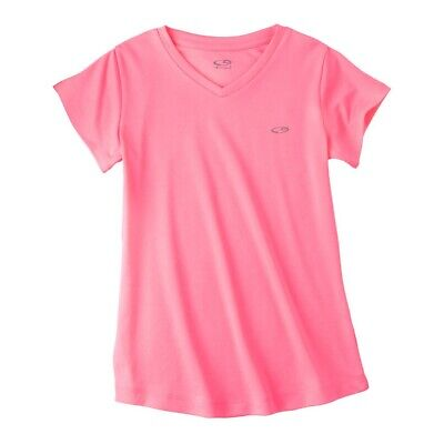C9 by Champion Girls Duo-Dry Semi-Fitted T-Shirt XL 14/16 Flamingo Pink BOGO Champion Girls T-shirt