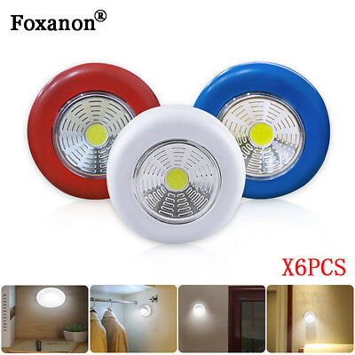 LED Touch Light Bulb Wireless Stick Up Night Safe Car Wall Lamp Battery Operated ()