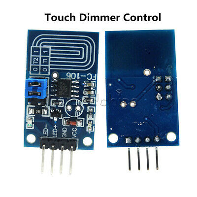 Constant Voltage Capacitive Touch Dimmer Pwm Control Panel Dimmer Switch Module