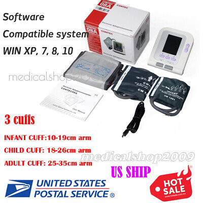 Fda Fully Automatic Blood Pressure Monitor With Adultchildpediatric Cuffs