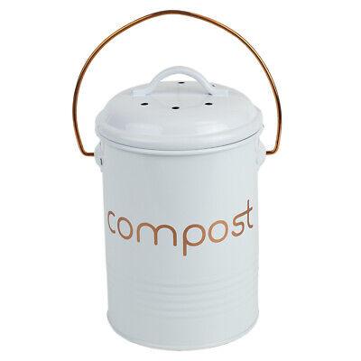 Grove Compact Countertop Compost Bin, White EBY56017 (Countertop Compost)