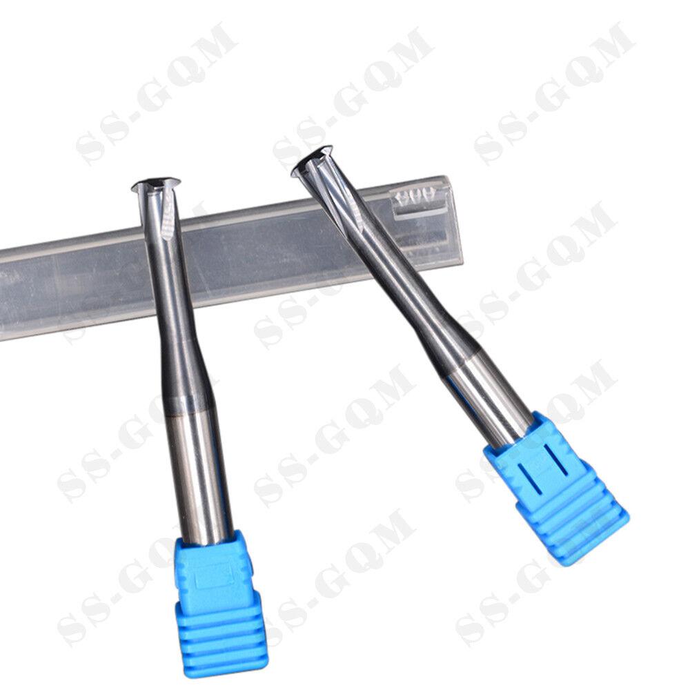 Carbide Thread End Mill  60 Cutter Picth 2MM Single Teeth 10MM Shank H6 Accuracy