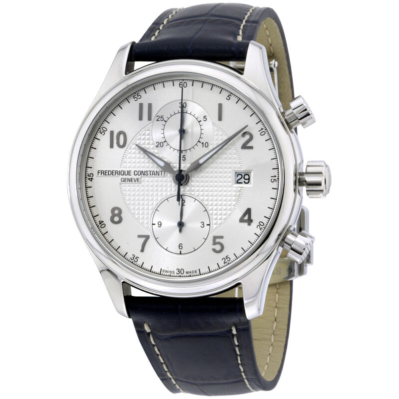 Frederique Constant Runabout Stainless Steel Chronograph Men's Watch FC393RM5B6 - watch picture 1