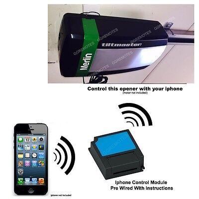 Iphone Remote Control Your Merlin MT100EVO Tiltmaster Garage Door Opener